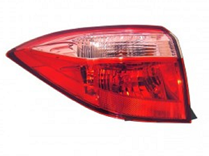 Toyota Corolla sedan 2017 2018 2019 tail light outer left driver CE, L, LE, LE ECO MODELS