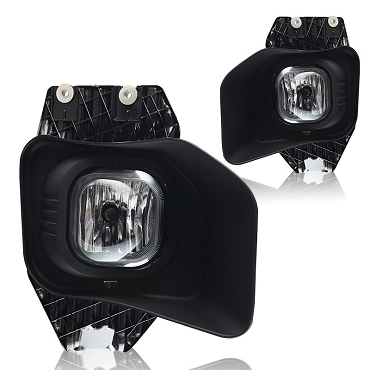 Ford F250 F350 F450 2011 2012 2013 2014 2015 fog lights Left and Right with bulbs and wiring kit