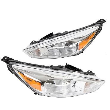 Ford Focus 2015 2016 2017 2018 left driver and right passenger headlights