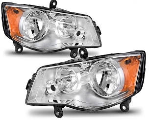 Chrysler Town and Country 2008 2009 2010 2011 2012 pair right & left headlights